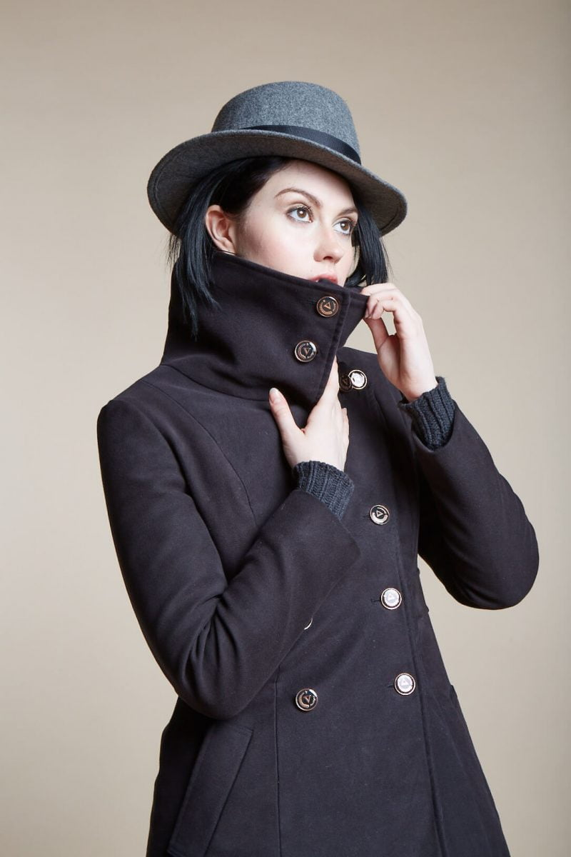 Shop Ladies and Gents Vaute Vegan Fashion Hat Coat
