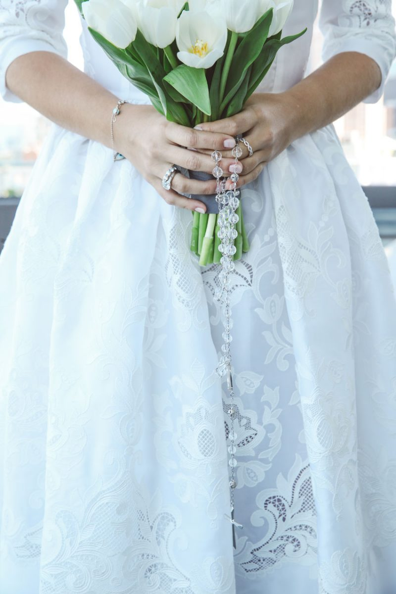 Shop NYC Wedding Fernanda Camoes Press Lounge Bouquet