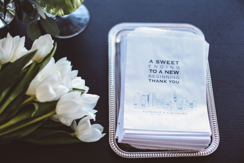 Shop NYC Wedding Fernanda Camoes Press Lounge Napkins