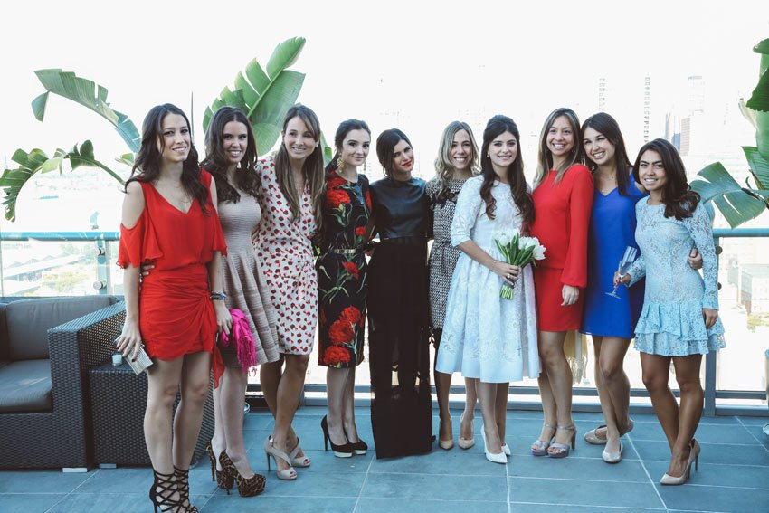 Shop NYC Wedding Fernanda Camoes Press Lounge with Friends