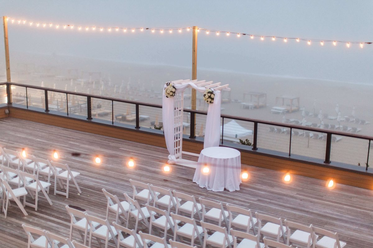 Shop NYC Wedding Kamila Almeida Gurneys Montauk Ceremony Outdoor