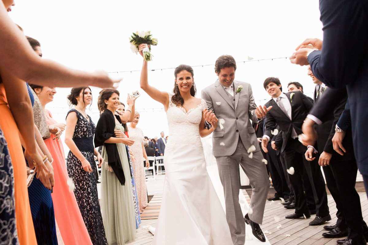 Shop NYC Wedding Kamila Almeida Gurneys Montauk Married