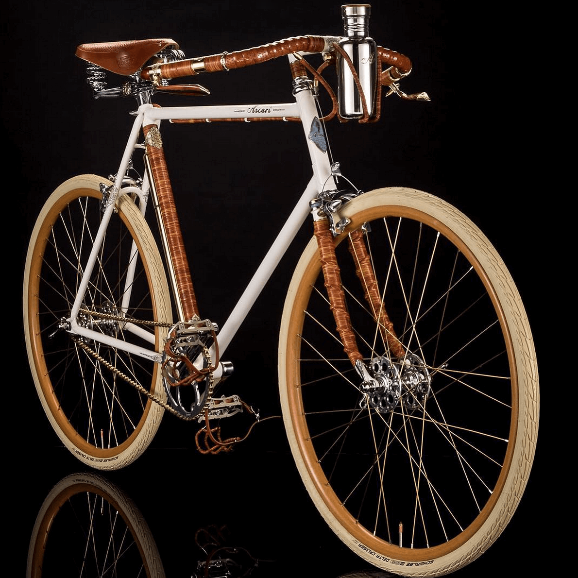 Shop Specialties Ascari Bicyles Handmade with Pride Ascari Plus Front View
