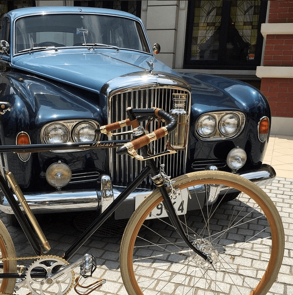 Shop Specialties Ascari Bicyles Handmade with Pride Vintage Car