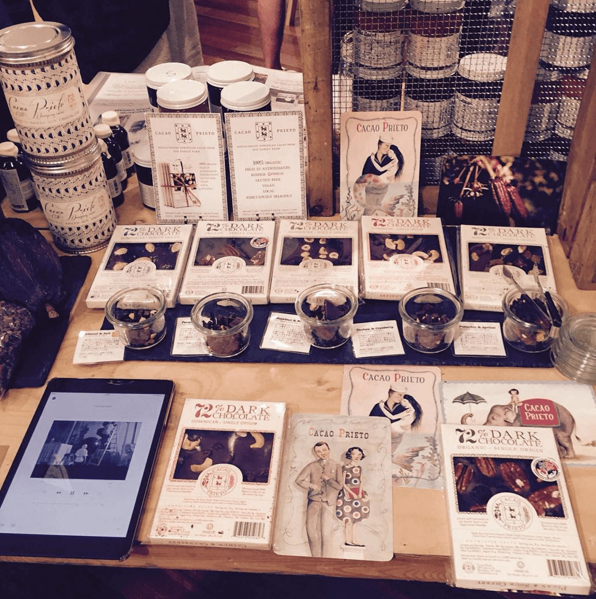 Shop Specialties Cacao Prieto Chocolate and Widow Jane Collection at EBIS OHTSU Gallery Japan