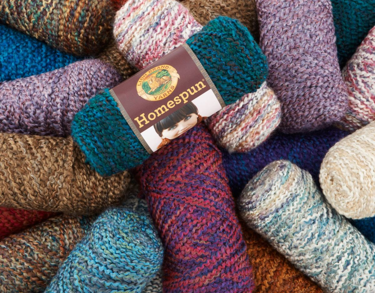 Shop Specialties Lion Brand Yarn Studio Handmade Homepun