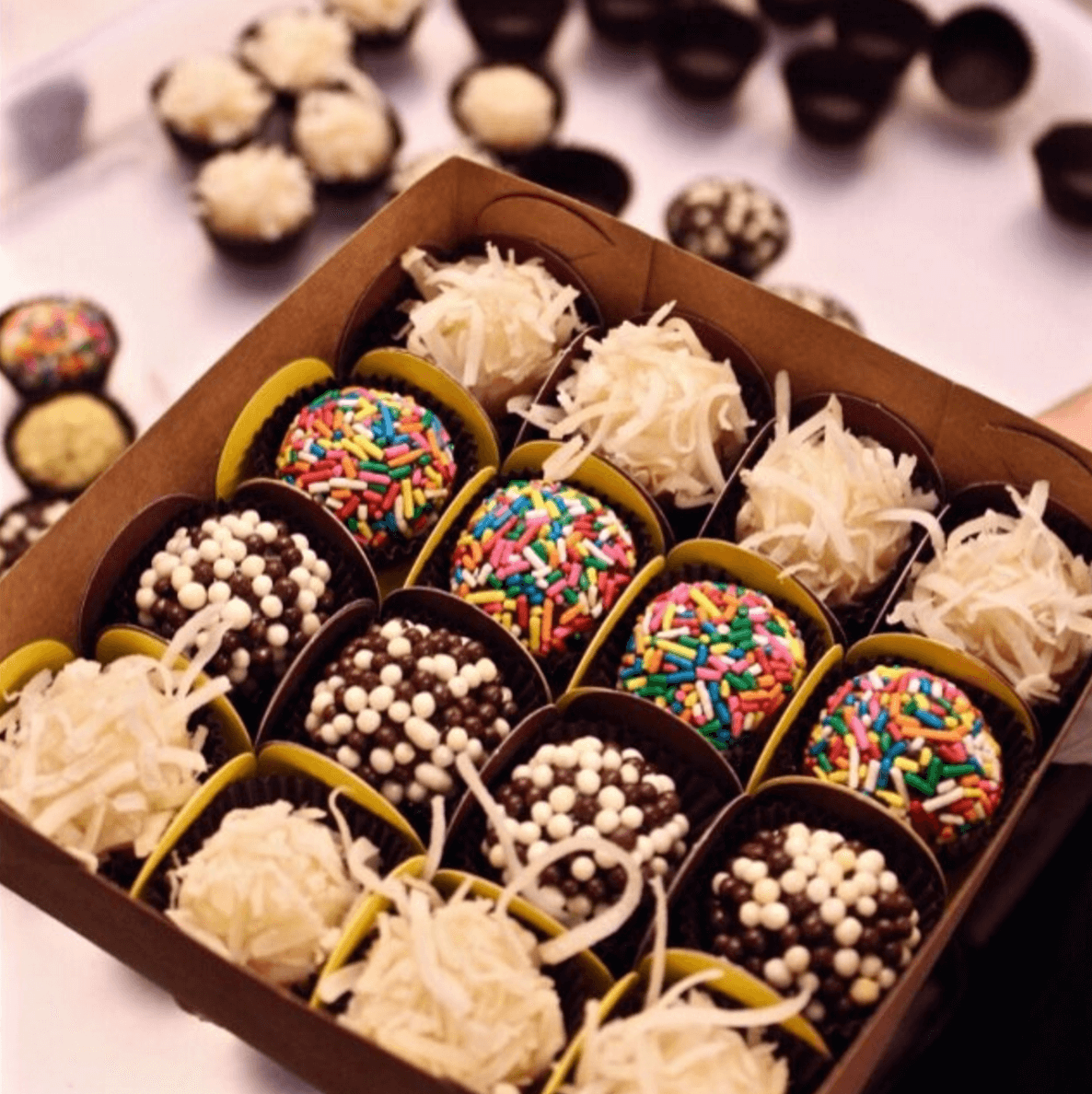 Shop Specialties Little Treats Brigadeiro Medium Box