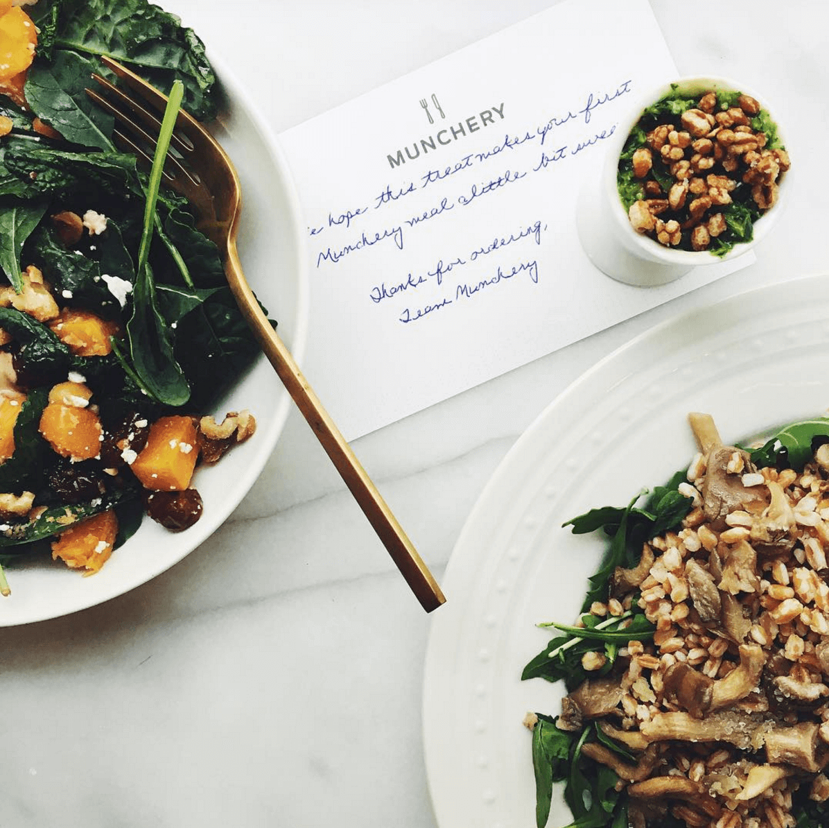 Shop Specialties Munchery Home Food Delivery With Note