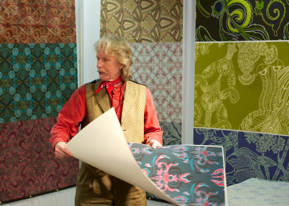 Shop Specialties Print Souce NY Fabric Textile Fair Exhibiting