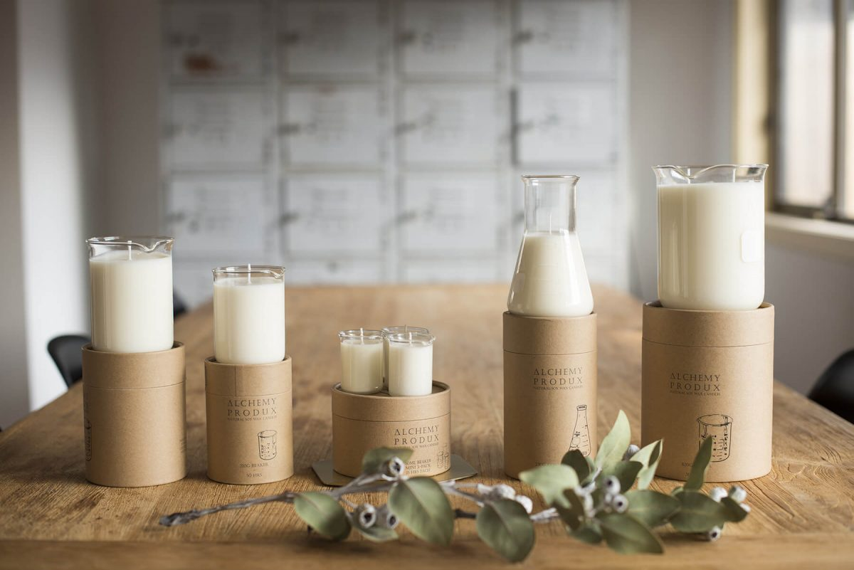 Shop Weddings Alchemy Produx Soy Wax Candles 5 Types