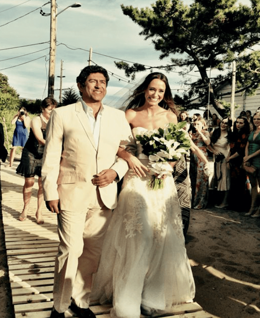 Shop Weddings Help Bride NYC Wedding Planner Fernanda Monfrinatti and Dad