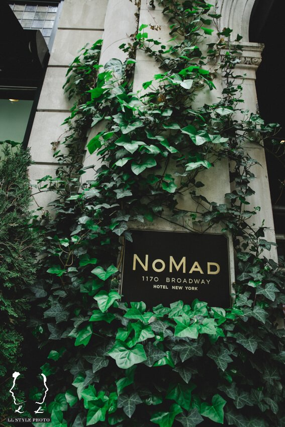 Shop Weddings Paula Merlo Rooftop of The NoMad Hotel Entrance