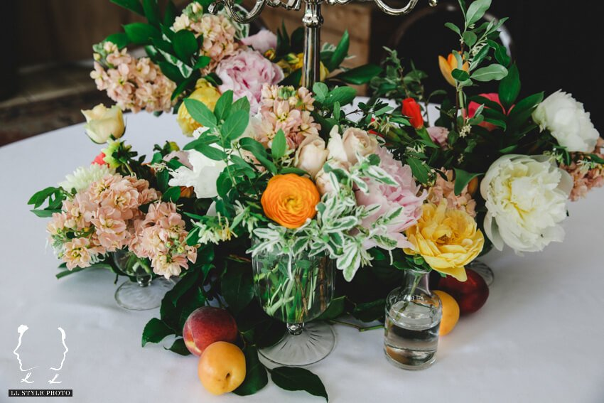 Shop Weddings Paula Merlo Rooftop of The NoMad Hotel Flowers