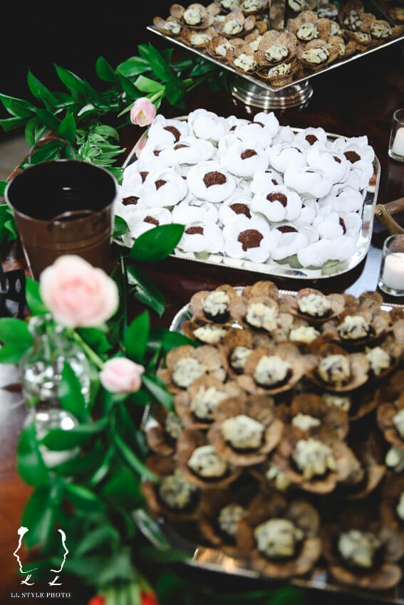 Shop Weddings Paula Merlo Rooftop of The NoMad Hotel Sweets