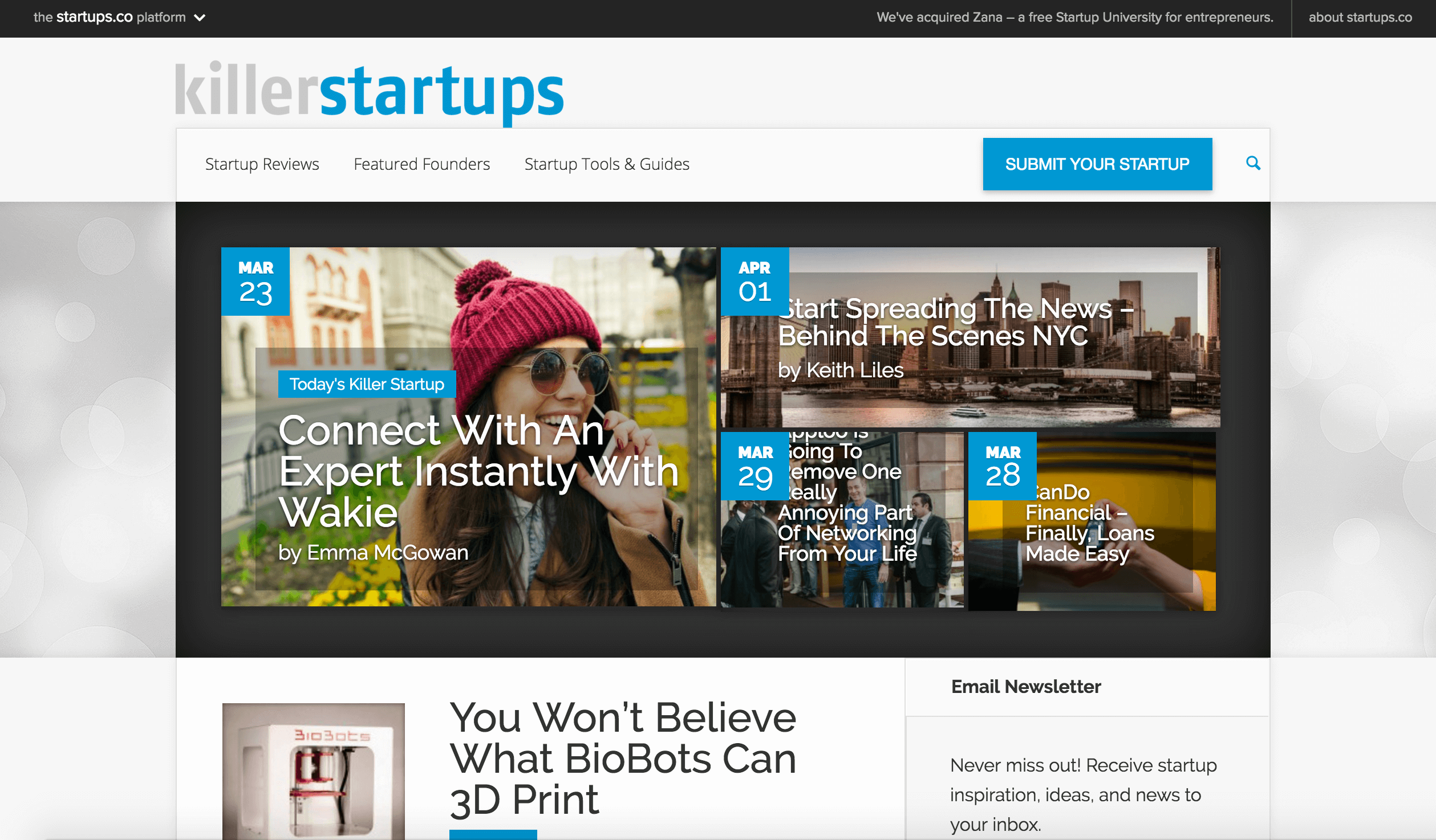 About BTSNYC What The Press Says About BTSNYC Killer StartUps