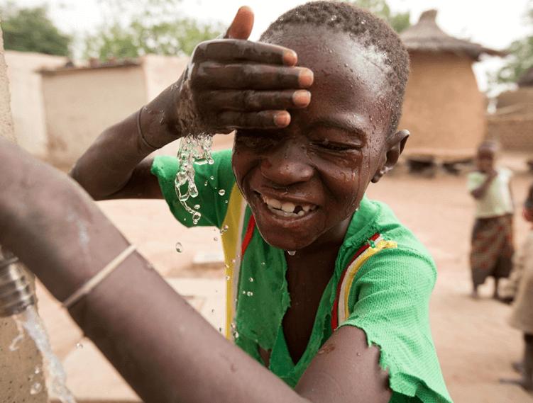 BTSNYC Social Responsibility Charity Water Boy