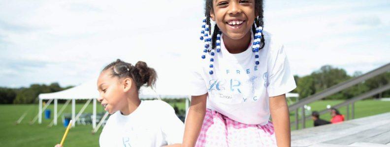 BTSNYC Social Responsibility Free Arts NYC Girl Smiling