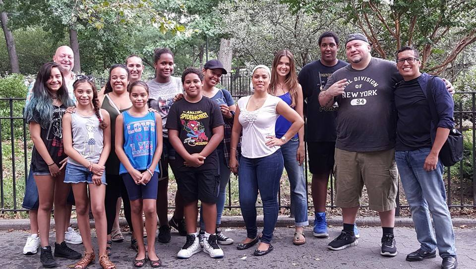 BTSNYC Social Responsibility Latinos NYC Fernanda Paronetto and Group