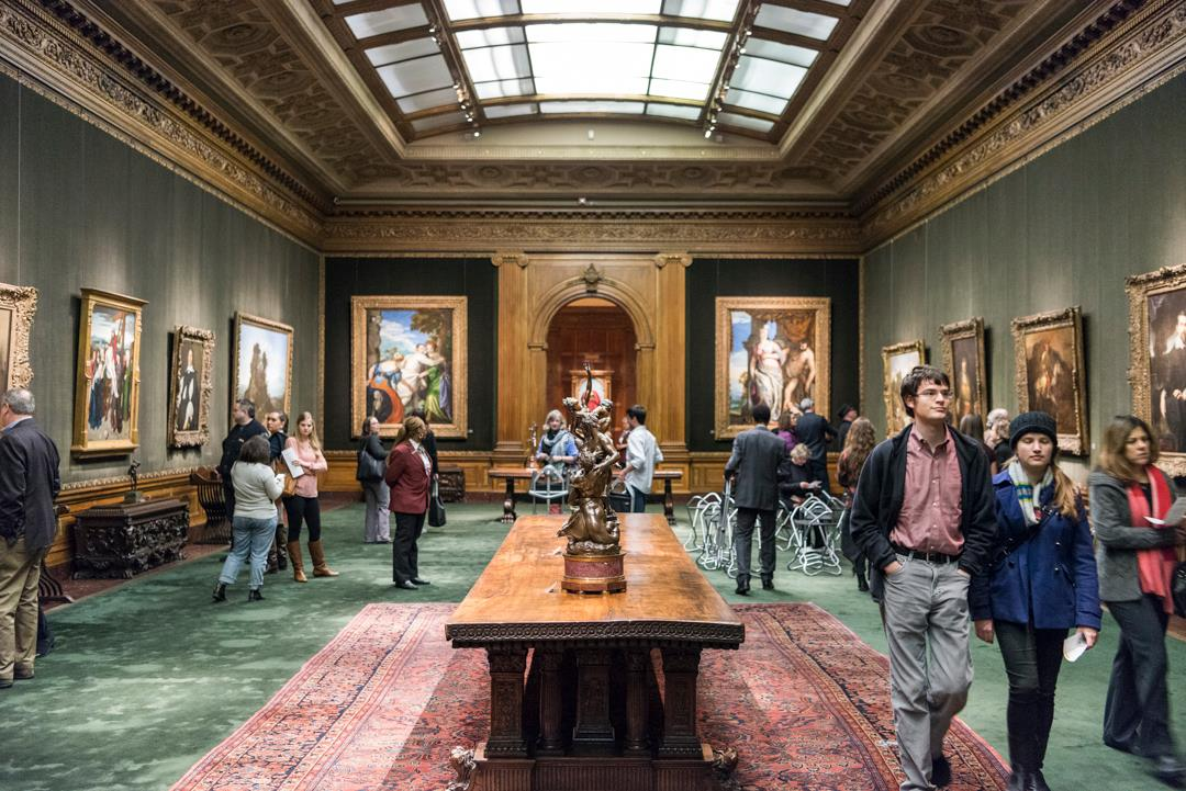 Curiosities Insider Interviews Amra and Elma Frick Collection Room