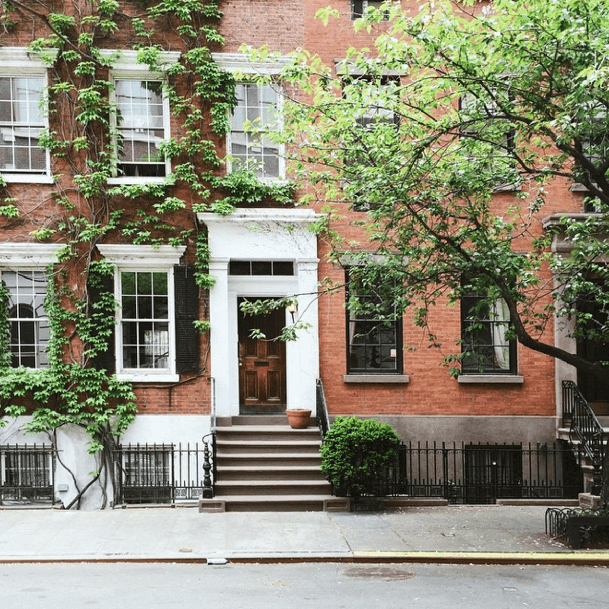 Curiosities Insider Interviews Amra and Elma West Village Brick Home