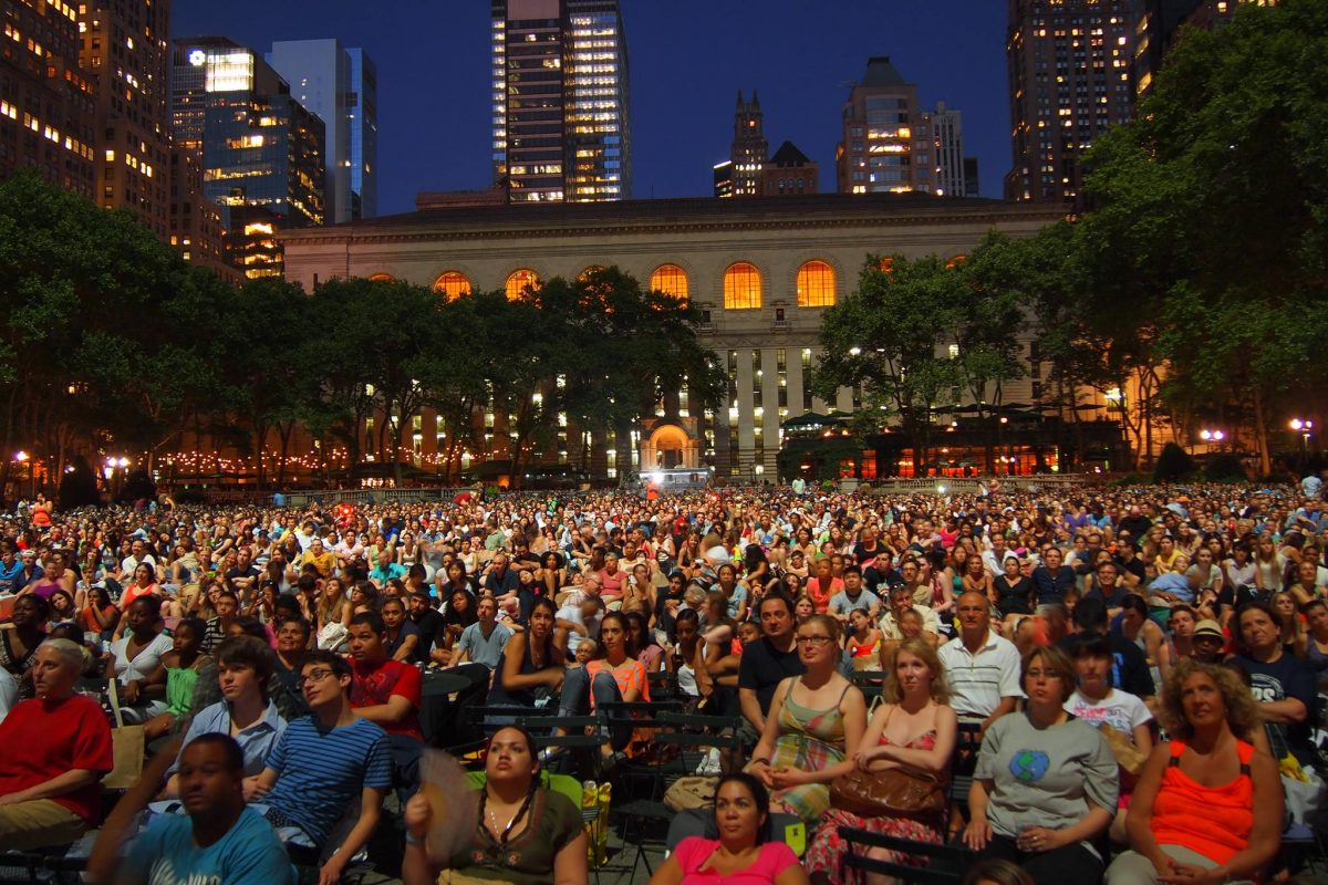 Curiosities Insider Interviews Carol Celico Bryant Park Film Screening