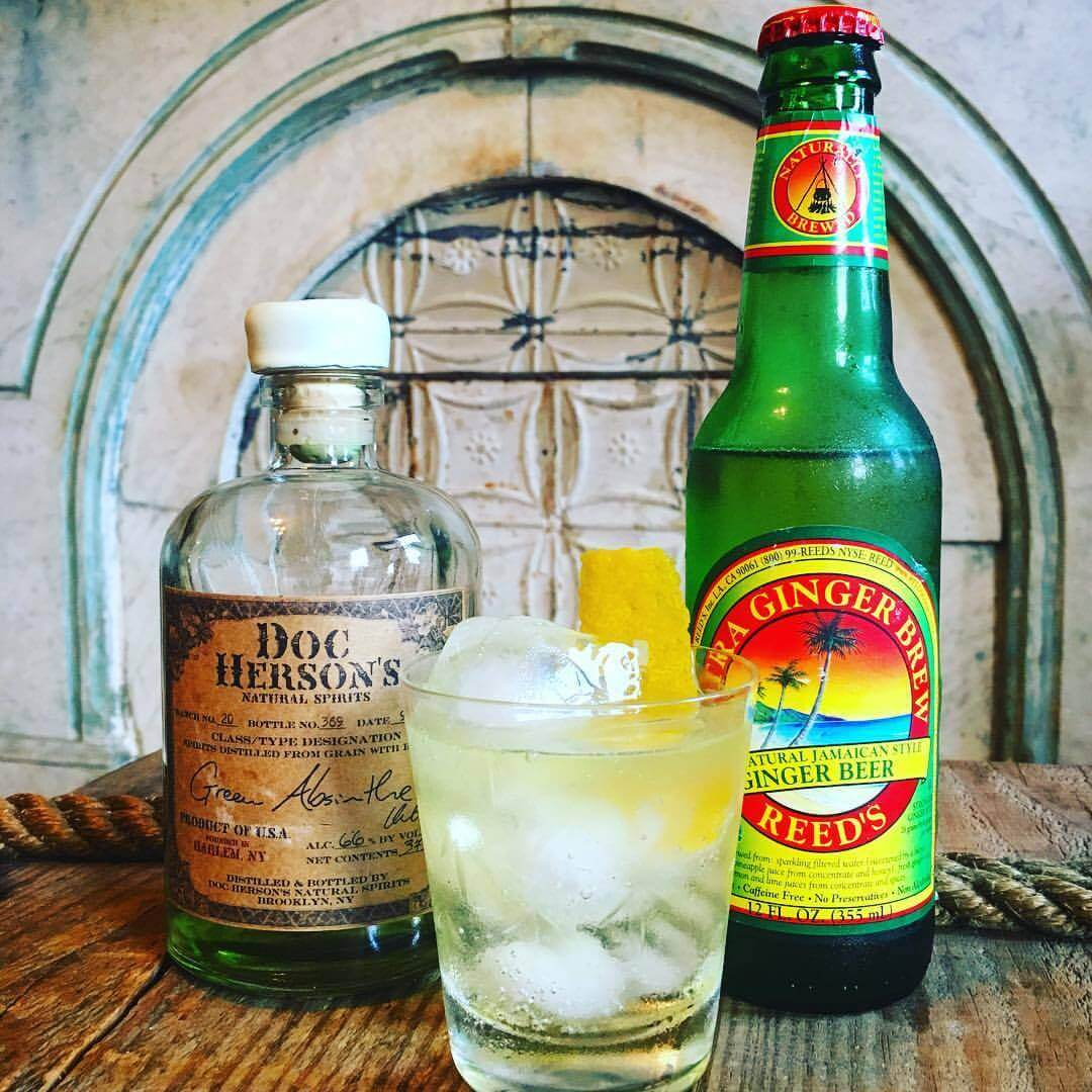 Curiosities Insider Interviews Doc Hersons Absinthe Green Ginger Beer