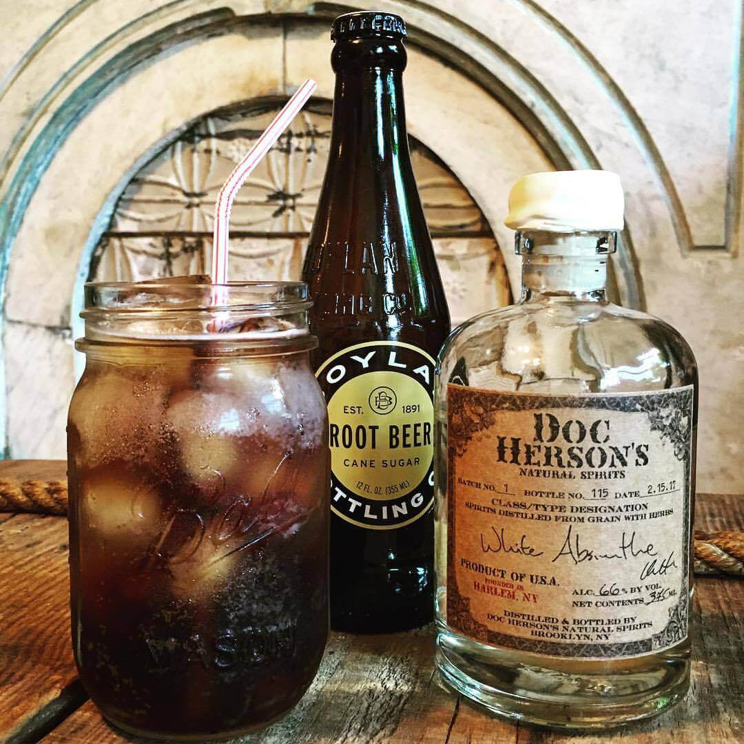Curiosities Insider Interviews Doc Hersons Absinthe White Root Beer