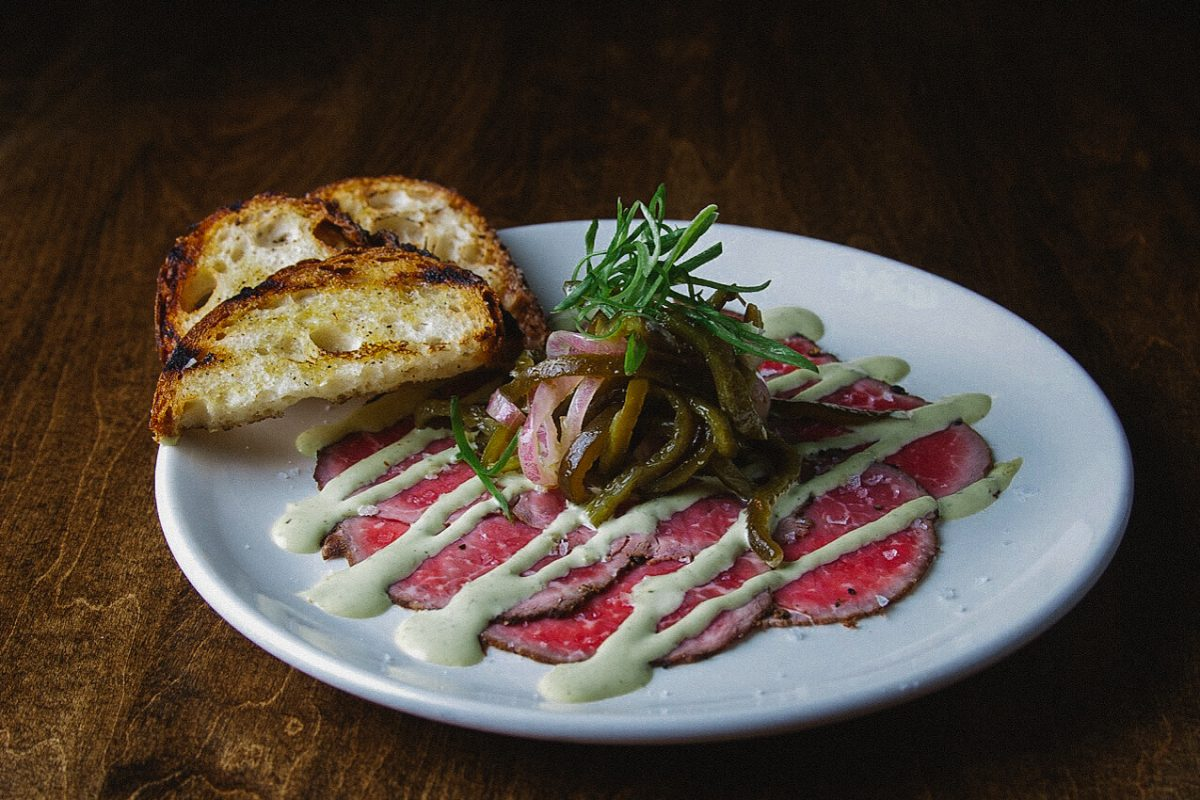 Curiosities Insider Interviews Ido Simyoni Burgers and Barrel Carpaccio