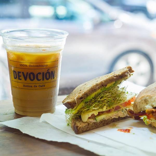 Curiosities Insider Interviews Van Le Devocion Coffee Sandwich