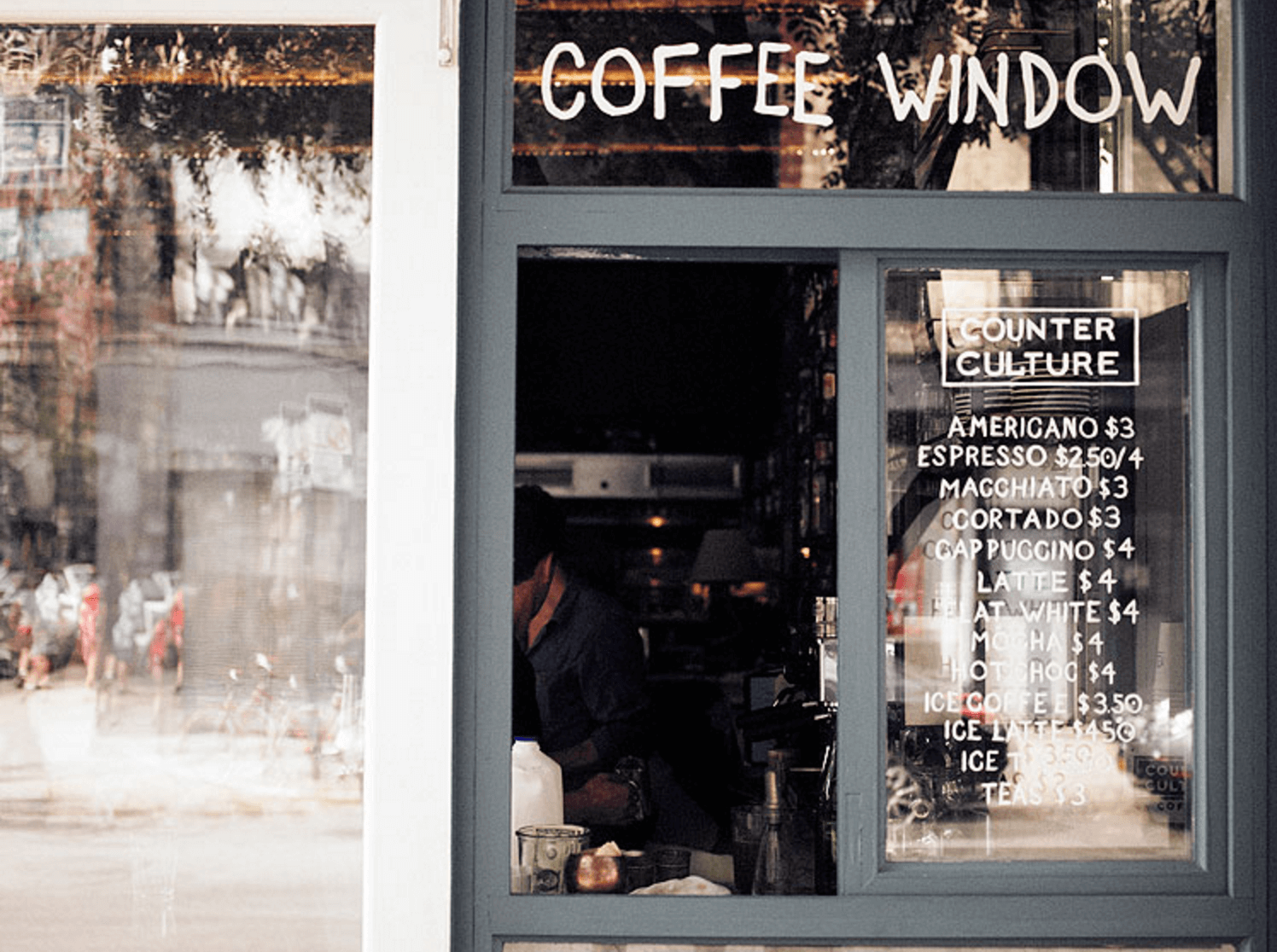 Curiosities Insider Interviews Van Le Dudley's Coffee Window