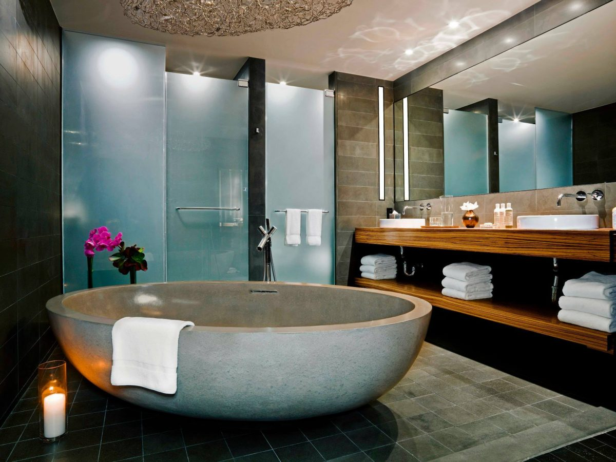 Curiosities Insider Interviews Van Le Sixty Hotel LES Bathroom