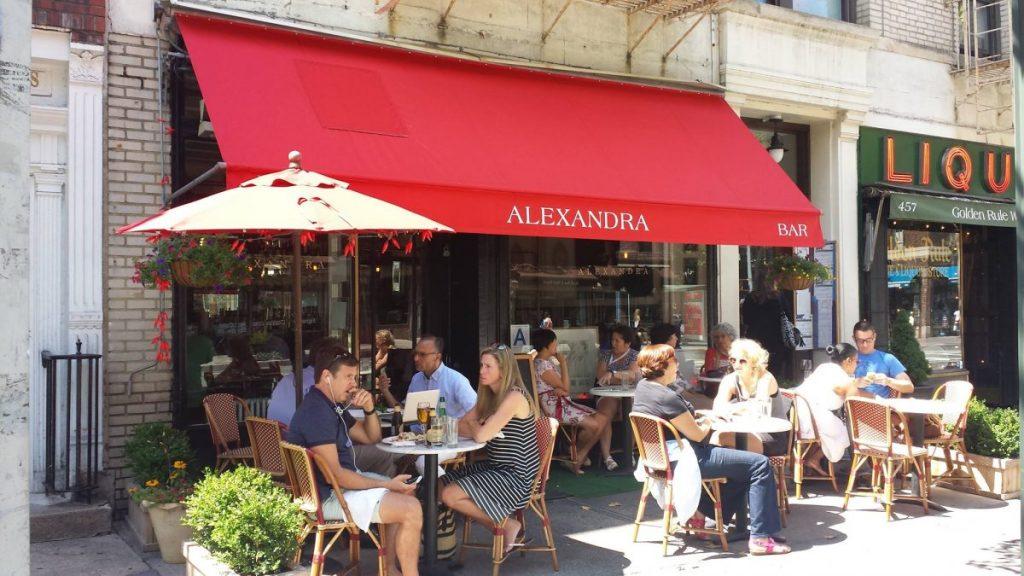 Dining Alexandra Restaurant West Village