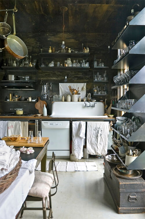 Curiosities Insider Interviews Juliette Hermant Mildreds Lane Beach Lake Pennsylvania Kitchen
