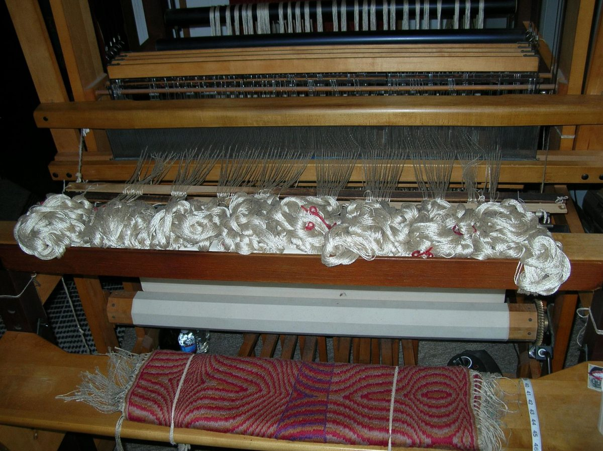 Curiosities Insider Interviews Juliette Hermant Narrowsburg Dyberry Weaver Tapestry Machine