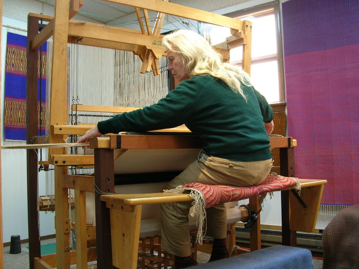 Curiosities Insider Interviews Juliette Hermant Narrowsburg Dyberry Weaver Tapestry Working