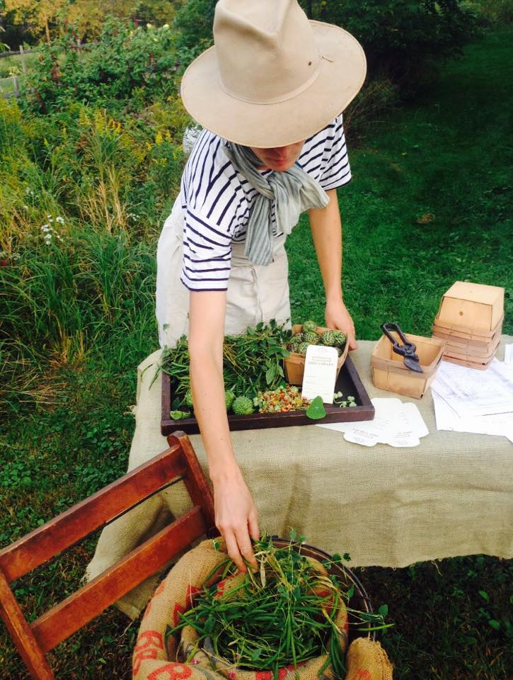 Curiosities Insider Interviews Juliette Hermant Narrowsburg Tusten Heritage Community Garden Woman