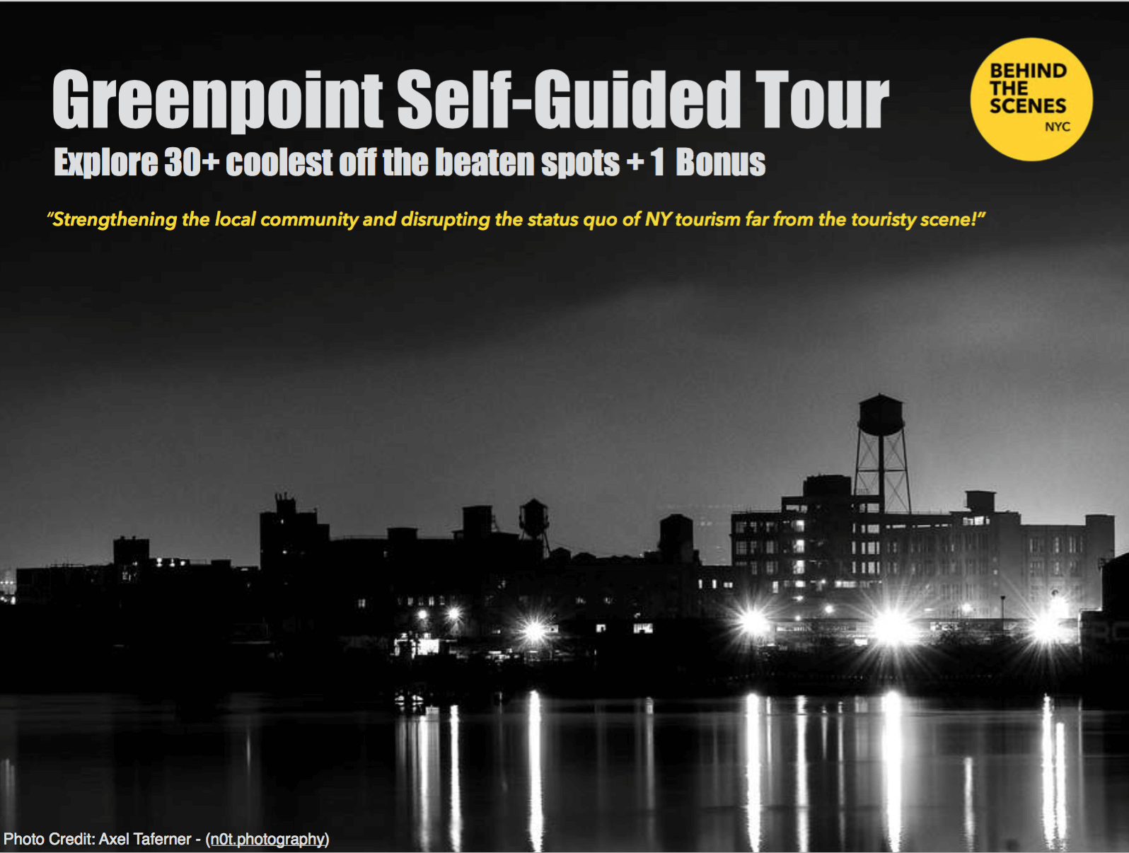 Shop NYC Gifts Greenpoint Self Guided Tour