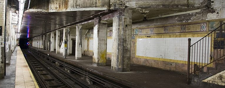 BTSNYC Experiences On Going Secret Underground New York Subway Tour Chambers Station