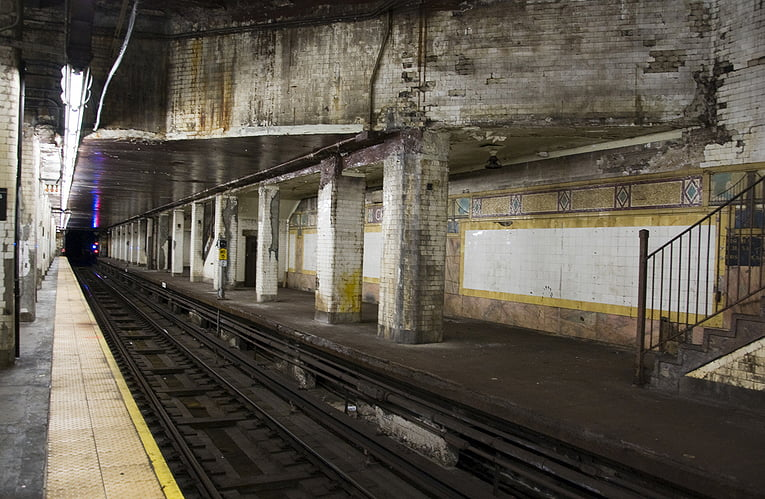 BTSNYC Experiences On Going Secret Underground New York Subway Tour Chambers Station