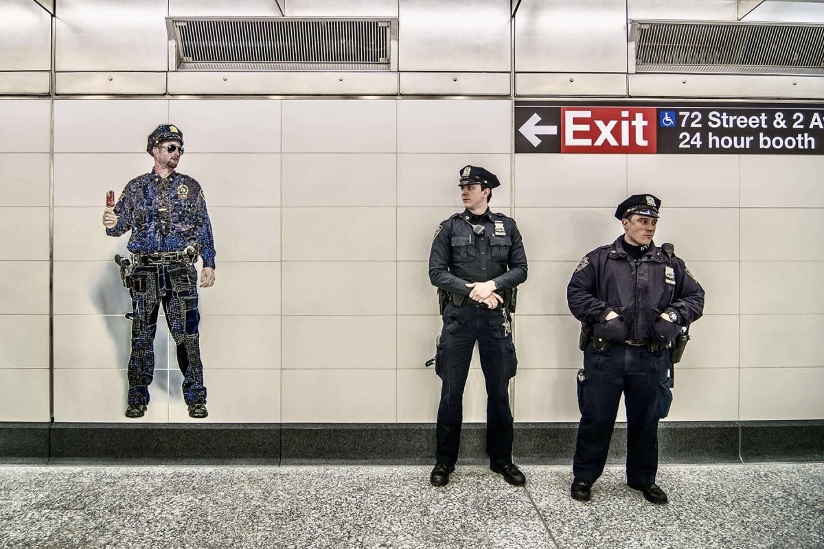 BTSNYC Experiences On Going Underground Art NYC Subway Police