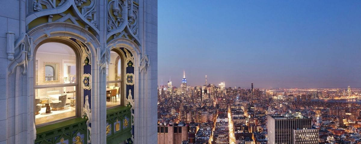BTSNYC Experiences On Going VIP Tour Historic Woolworth Building Penthouse