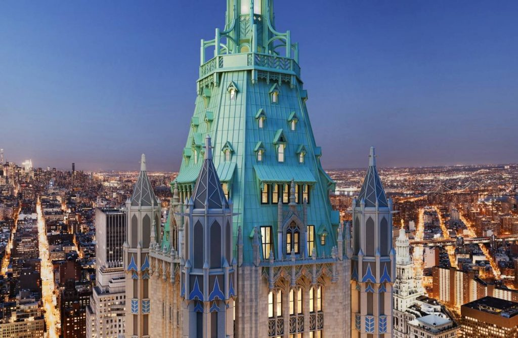 BTSNYC Experiences On Going VIP Tour Historic Woolworth Building View