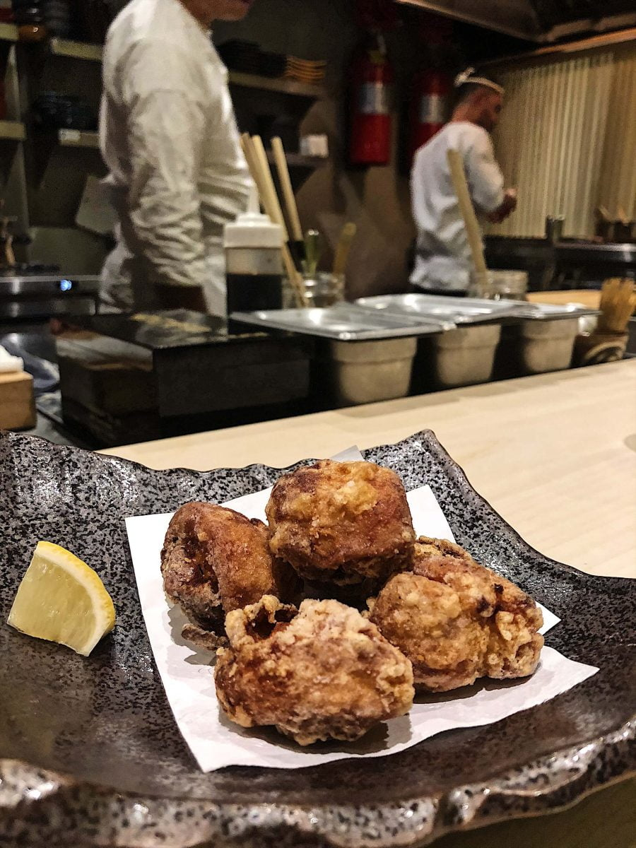Dining Shuraku NYC Karaage Marinated Fried Chicken