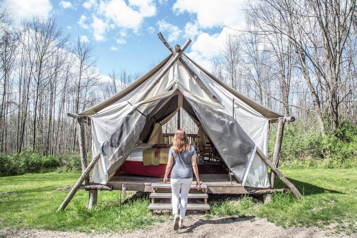 Curiosities Insider Interviews Kristen Kellogg Camping Ithaca New York