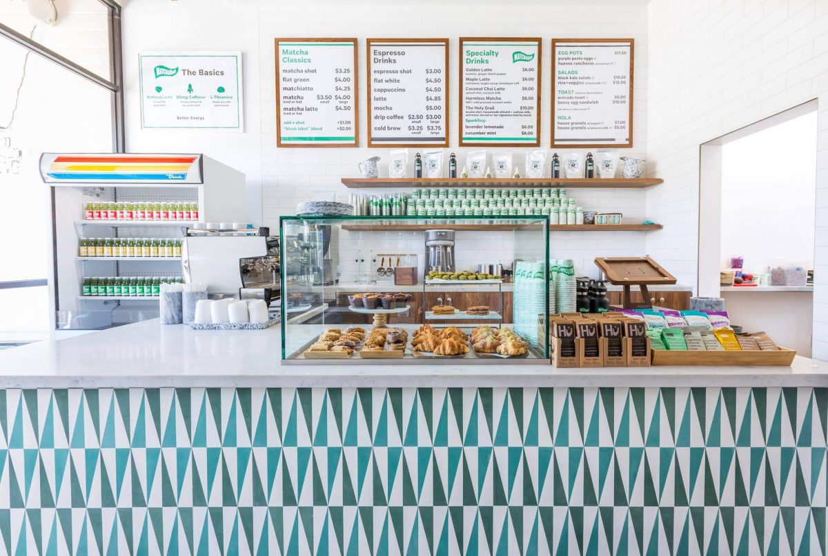 Curiosities Insider Interviews Kristen Kellogg Matcha Bar Counter