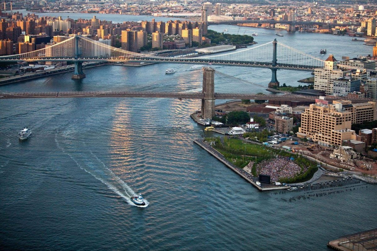 Curiosities Insider Interviews Kristen Kellogg NYC Helicopter Tour East River