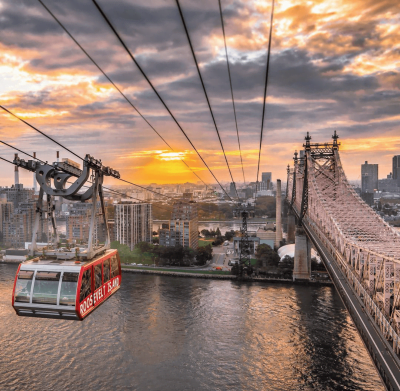 Curiosities Our Bucket Lists 3 NYC Hidden Gems Roosevelt Island Tram by NoelYC