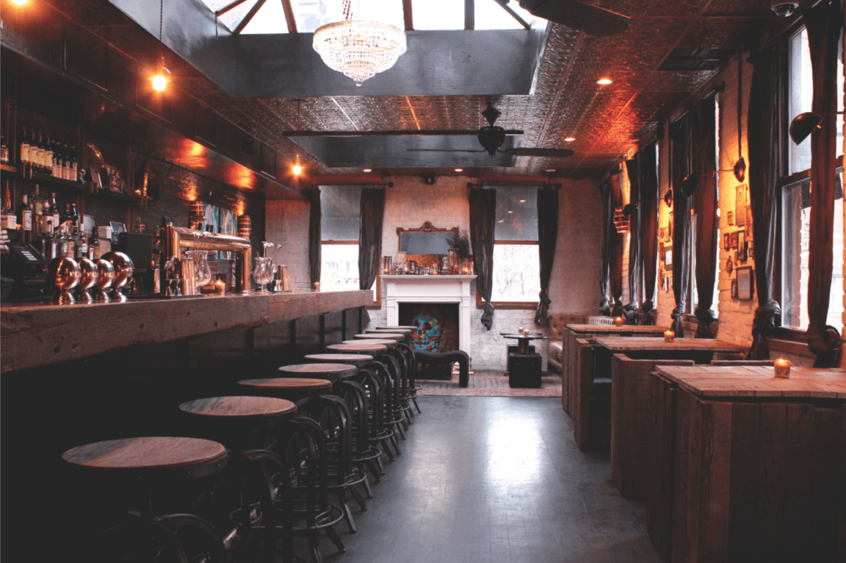 Curiosities Our Bucket Lists 3 NYC Hidden Gems The Garret West Bar