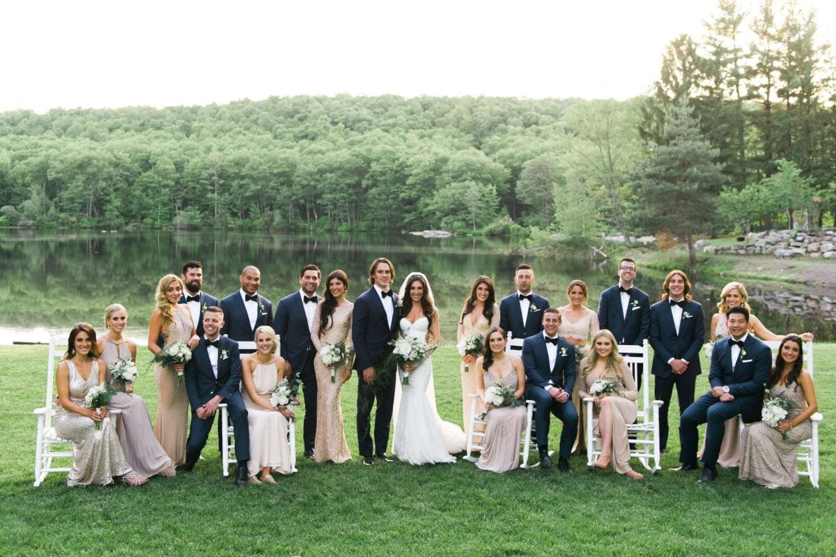 Shop Upstate NY Wedding Stephanie Karvellas Bridesmaids Groomsmen