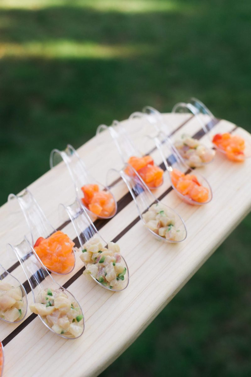 Shop Upstate NY Wedding Stephanie Karvellas Cocktail Food